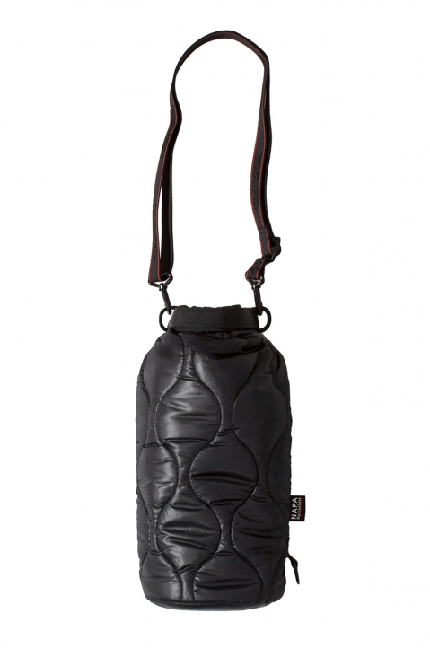 NAPA by MARTINE ROSE Black Quilted Bag 0