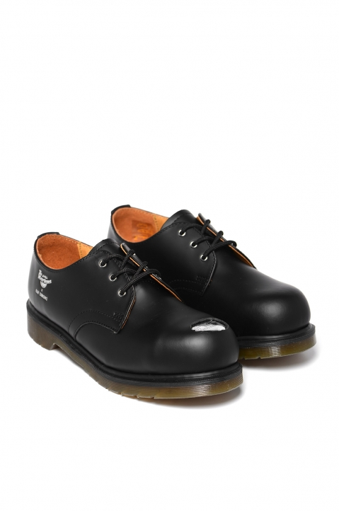 RAF SIMONS X DR. MARTENS Keaton I Asymmetric Cut-Out Shoes 1