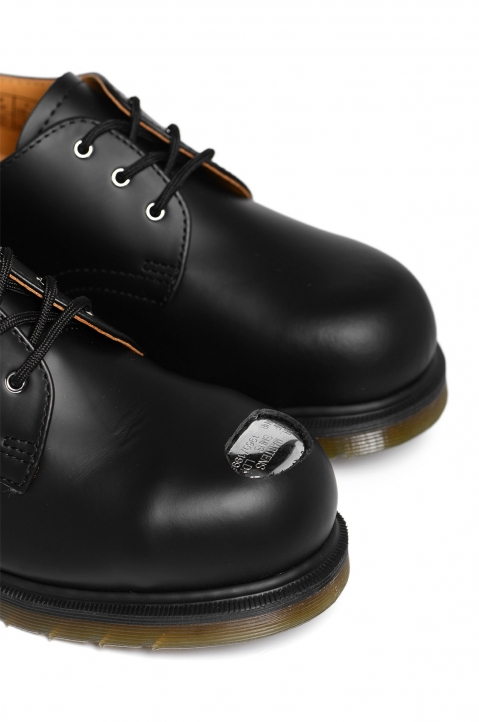 RAF SIMONS X DR. MARTENS Keaton I Asymmetric Cut-Out Shoes 2