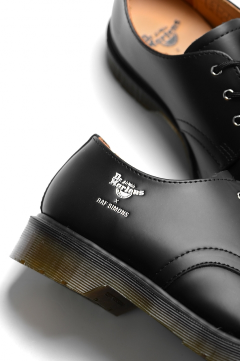 RAF SIMONS X DR. MARTENS Keaton I Asymmetric Cut-Out Shoes 4