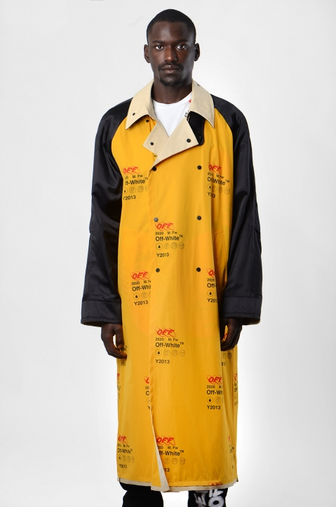 OFF-WHITE Industrial Reversible Trench-Coat 1