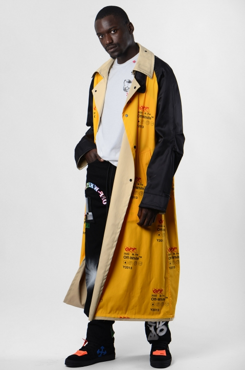 OFF-WHITE Industrial Reversible Trench-Coat 4