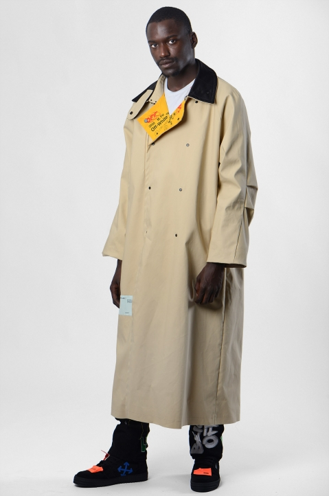 OFF-WHITE Industrial Reversible Trench-Coat 5