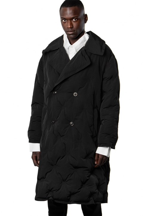 MAISON MARGIELA Quilted Shell Trench Coat 0