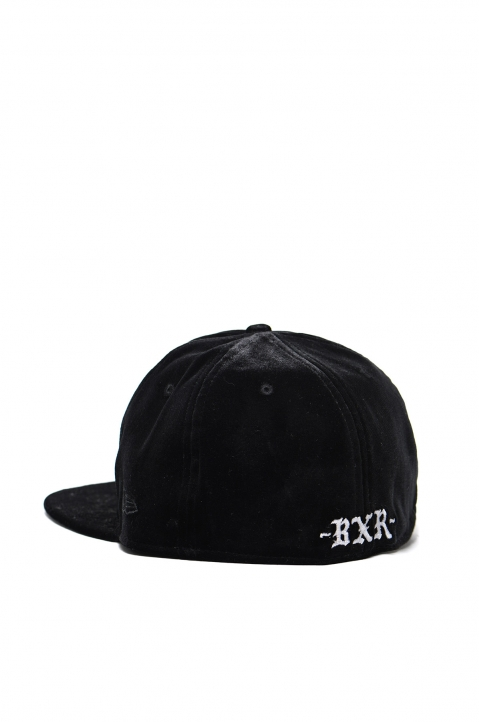 BORN x RAISED Velour Fitted Cap 2