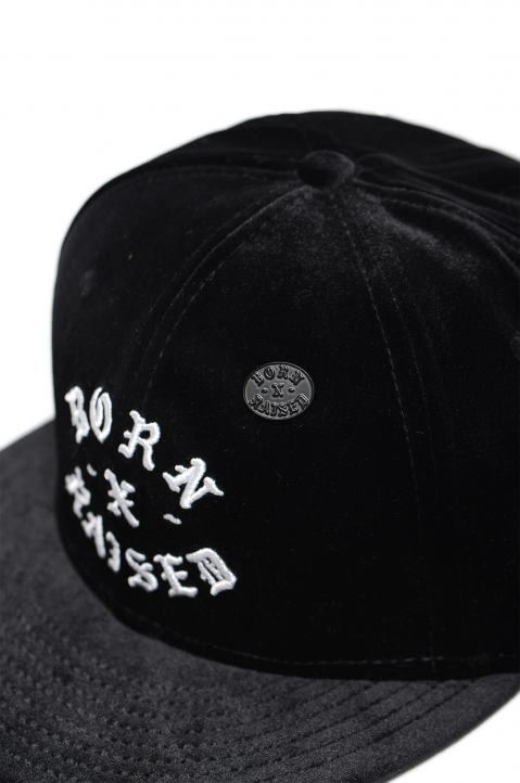 BORN x RAISED Velour Fitted Cap 3