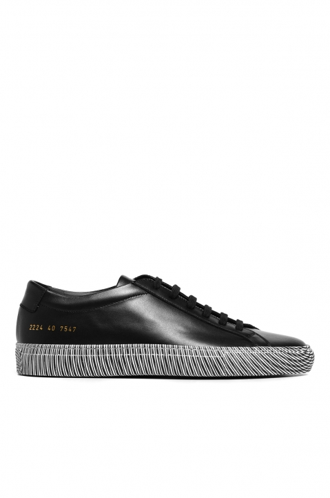 COMMON PROJECTS Achilles Low Moire Sole Sneakers Black 0
