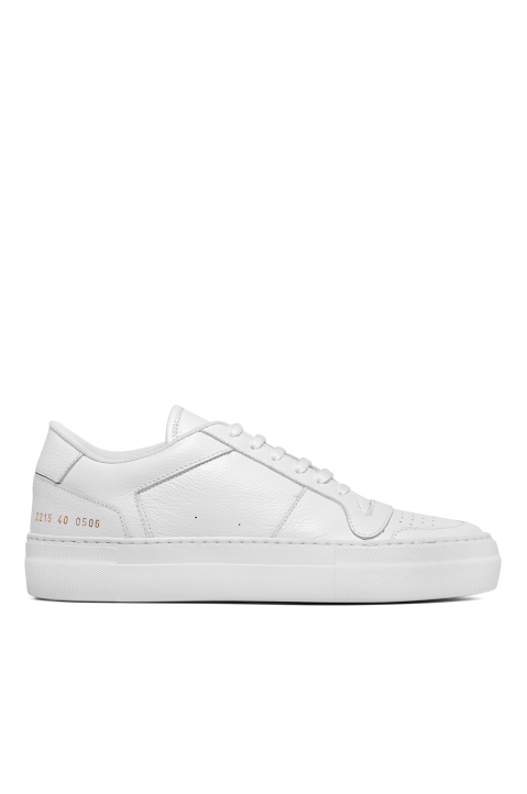 COMMON PROJECTS Full Court Low Top Sneakers White 0