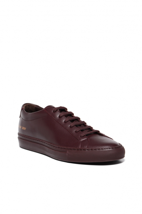 COMMON PROJECTS Achilles Low Sneakers Bordeaux 1