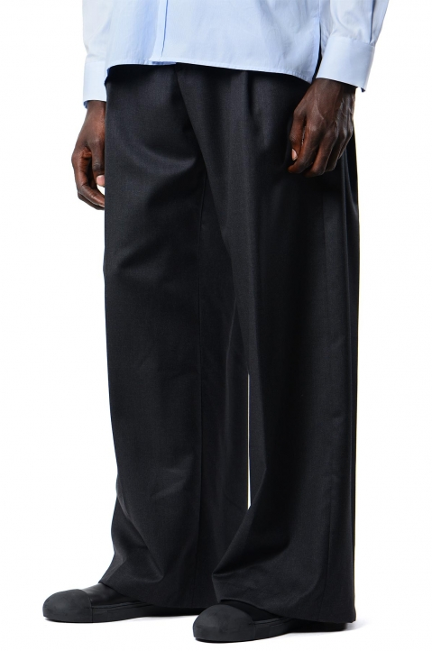 INÊS TORCATO Pleated Loose Pants 0