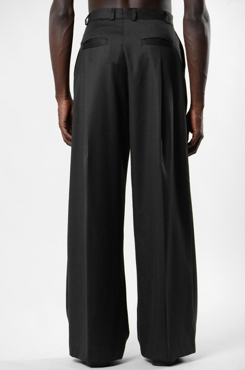 INÊS TORCATO Pleated Loose Pants 2