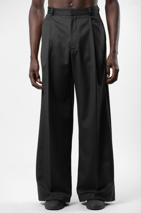 INÊS TORCATO Pleated Loose Pants 1