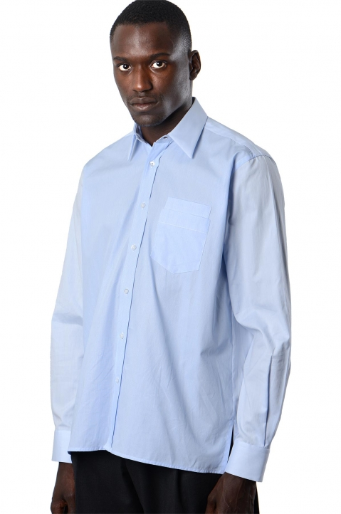 INÊS TORCATO Double-Pocket Oxford Shirt 0