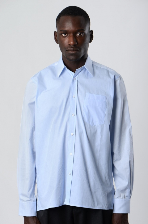 INÊS TORCATO Double-Pocket Oxford Shirt 1
