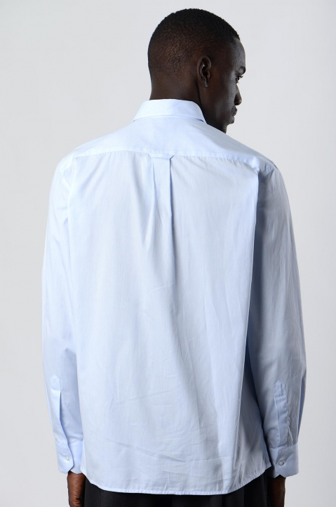 INÊS TORCATO Double-Pocket Oxford Shirt 2