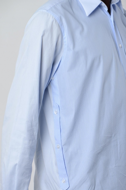 INÊS TORCATO Double-Pocket Oxford Shirt 3