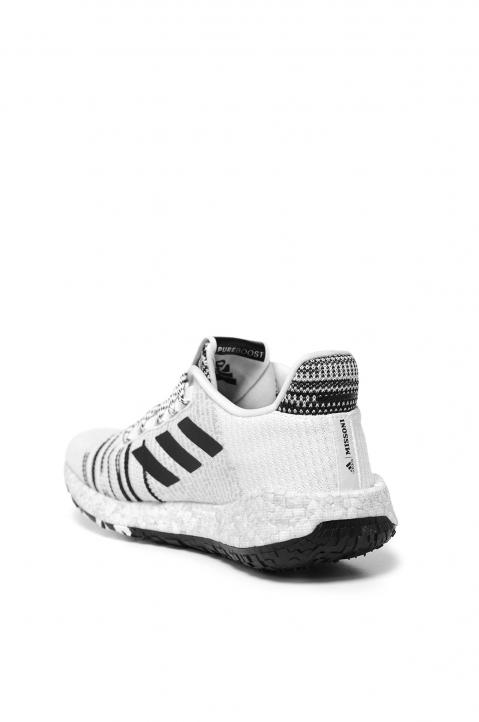 ADIDAS X MISSONI PulseBOOST HD White Sneakers 2