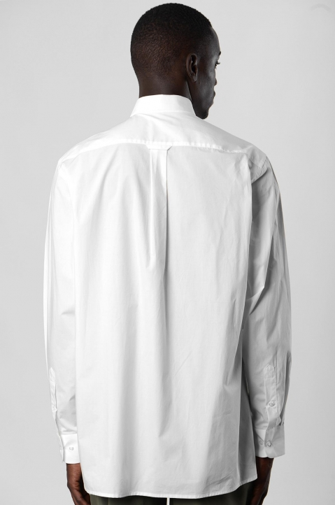 INÊS TORCATO Transfer Pocket White Shirt 2