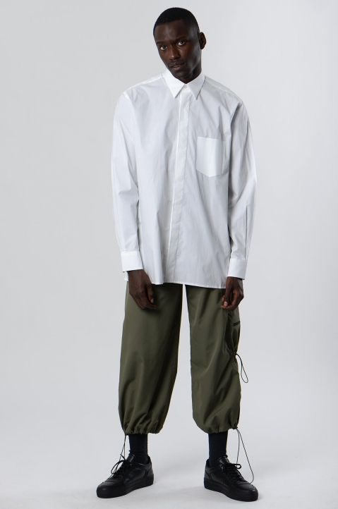 INÊS TORCATO Transfer Pocket White Shirt 3