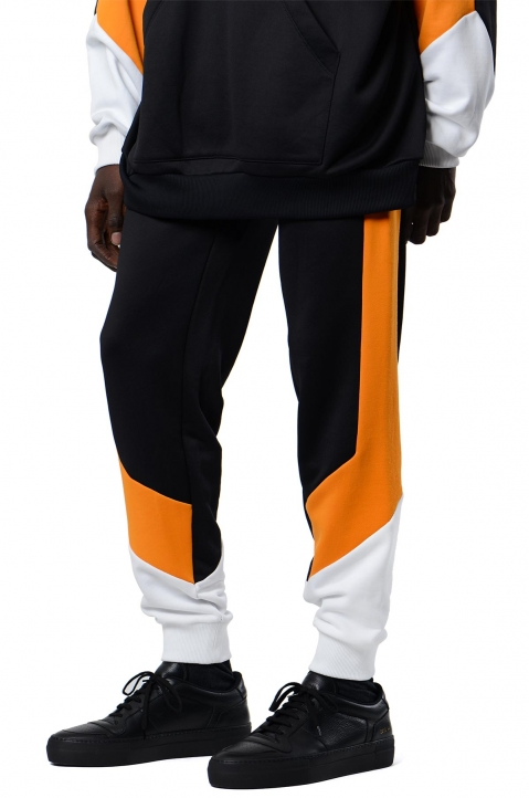 DAVID CATALÁN Tri-Color Black Sweatpants 0