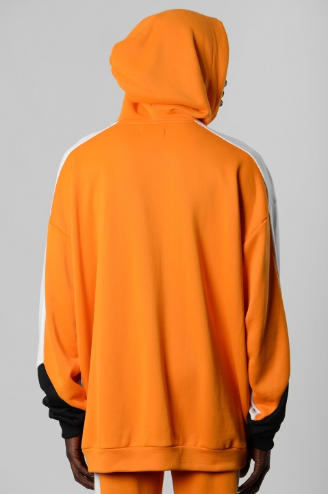 DAVID CATALÁN Tri-color Orange Hoodie 2