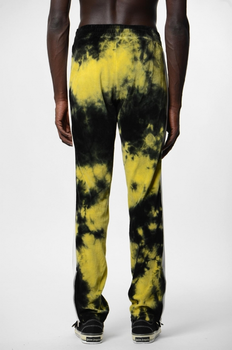 PALM ANGELS Yellow Tie Dye Track Pants  2