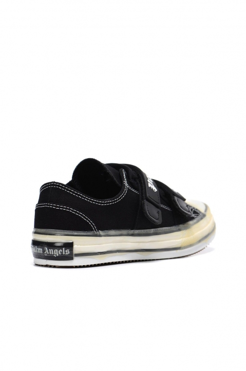 PALM ANGELS Black Velcro Vulcanized Sneakers 2