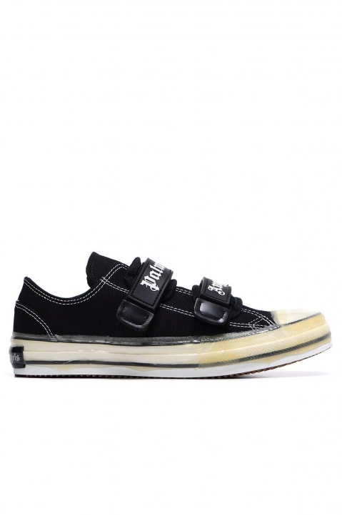 PALM ANGELS Black Velcro Vulcanized Sneakers 0