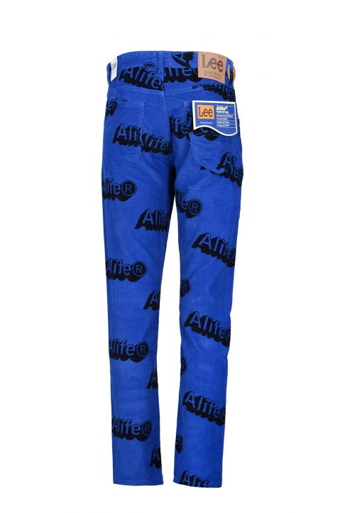 ALIFE x LEE Blue Corduroy Trousers  1