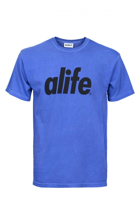 ALIFE Royal Blue Logo Tee 0