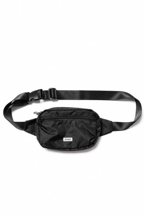 ALIFE Black Waist Bag 0