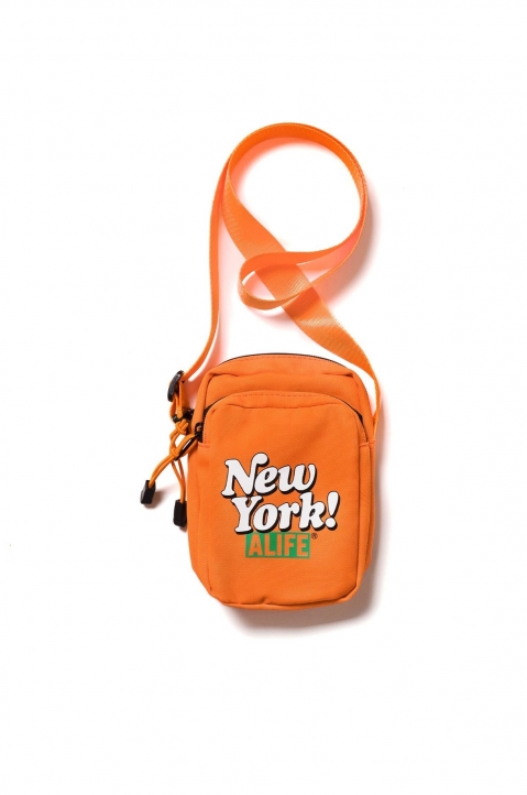 ALIFE New York! Messenger Bag Orange  0