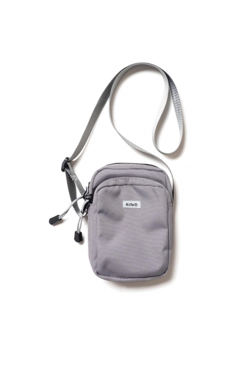 ALIFE Compact Messenger Bag Grey 0