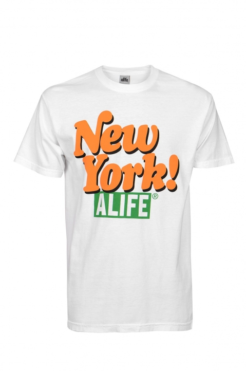 ALIFE White New York Tee 0
