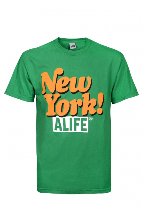 ALIFE Green New York Tee 0