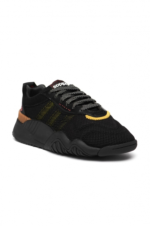 ADIDAS X ALEXANDER WANG Black/Yellow Turnout Trainer 1