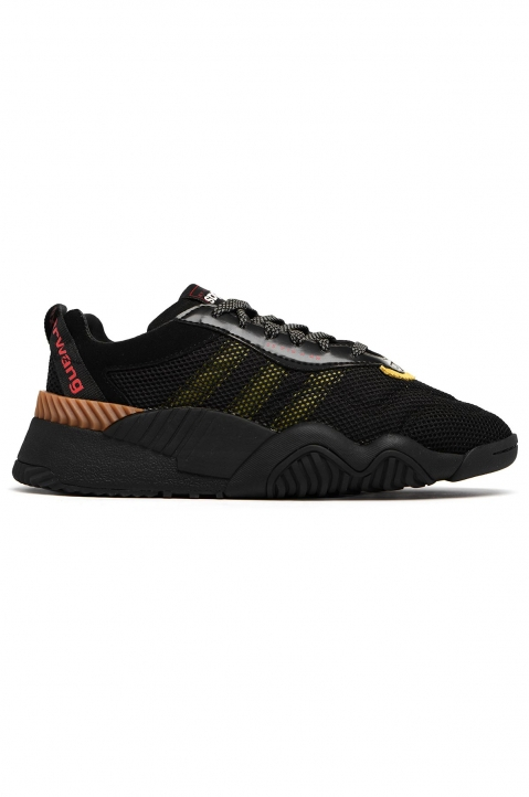 ADIDAS X ALEXANDER WANG Black/Yellow Turnout Trainer 0