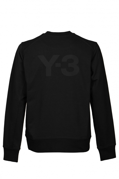 Y-3 Black Logo Sweatshirt 1