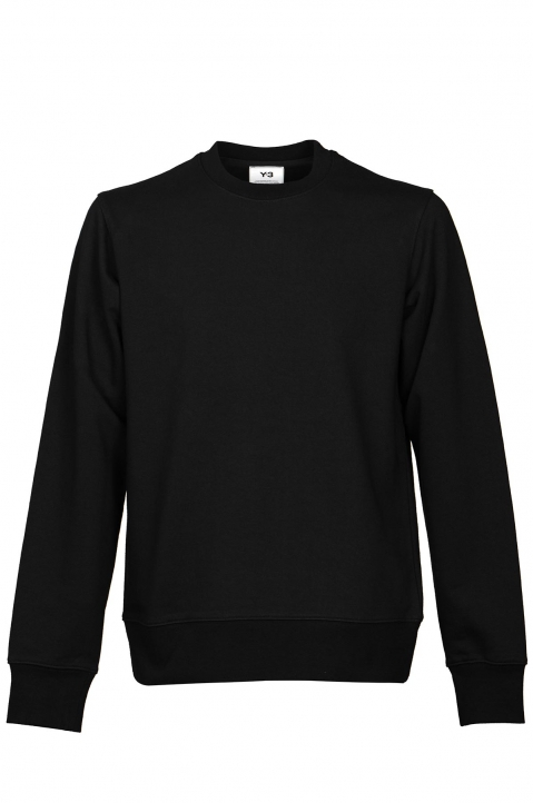 Y-3 Black Logo Sweatshirt 0