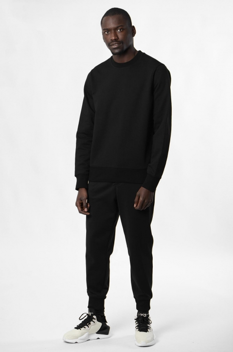 Y-3 Black Logo Sweatshirt 2