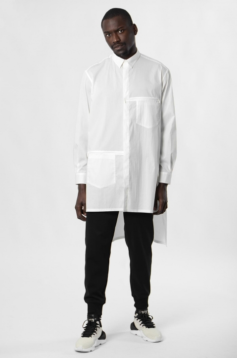 Y-3 White Classic Tunic 3