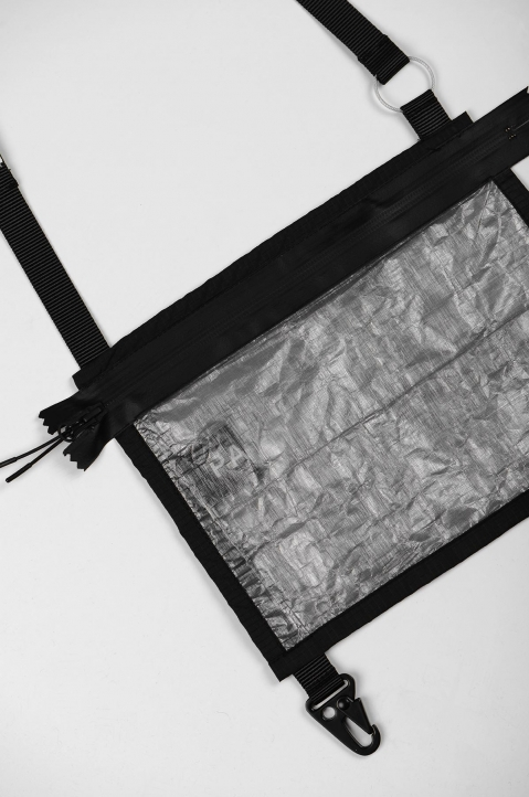PACE Black Dyneema® Sacoche Bag 1