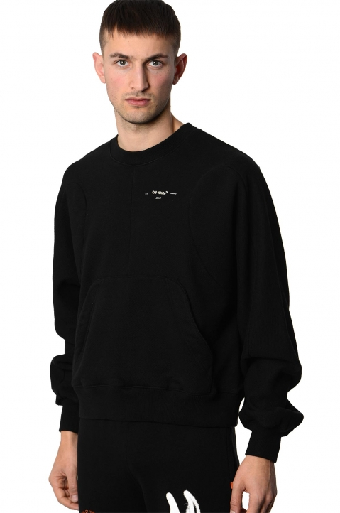 OFF-WHITE Black Arrows Sweatshirt  0