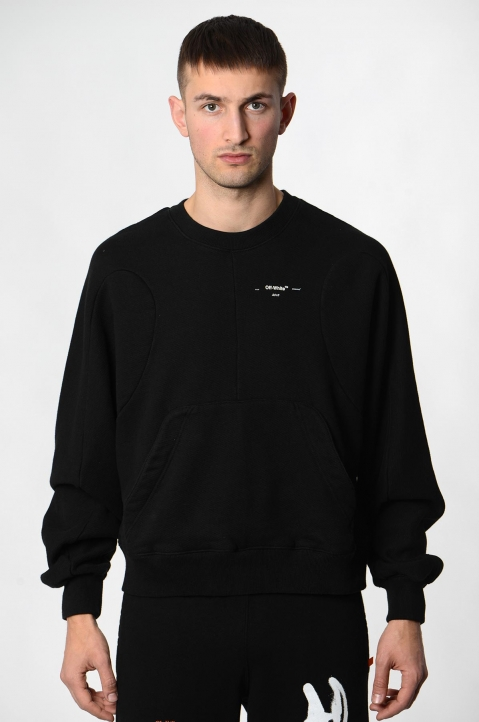 OFF-WHITE Black Arrows Sweatshirt  1