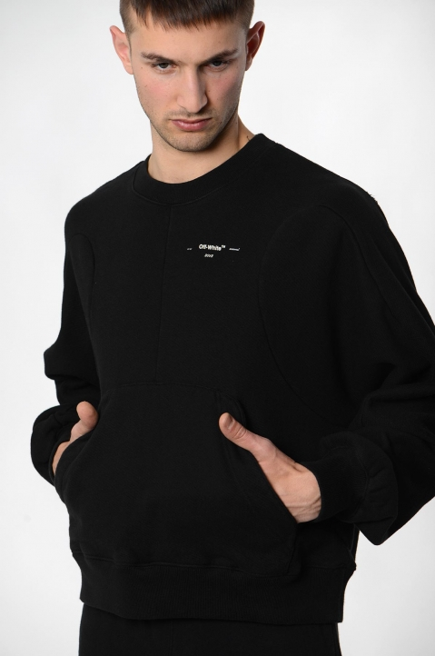 OFF-WHITE Black Arrows Sweatshirt  3