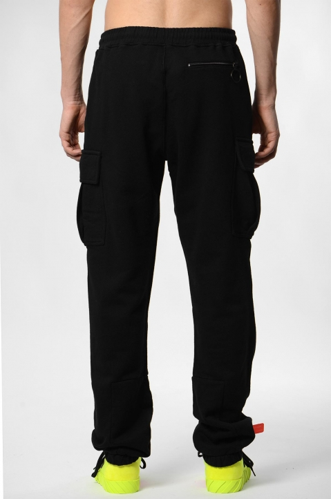 OFF-WHITE Logo Cargo Sweatpants 2