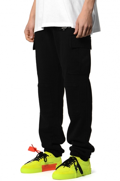 OFF-WHITE Logo Cargo Sweatpants 0