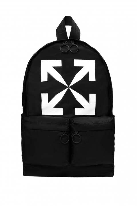 OFF-WHITE Black Arrow Backpack  0