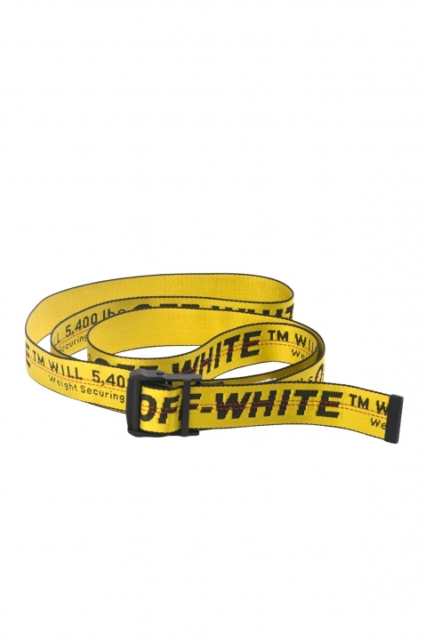 OFF-WHITE Yellow Industrial Belt  0
