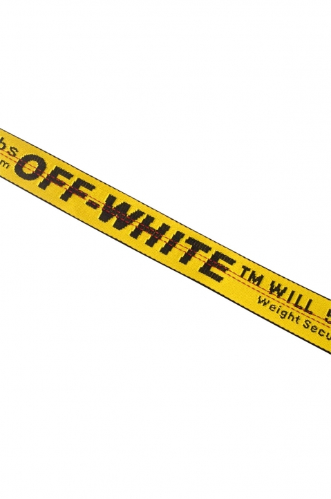 OFF-WHITE Yellow Industrial Belt  2